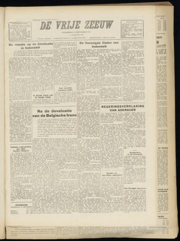 de Vrije Zeeuw 1949-09-22