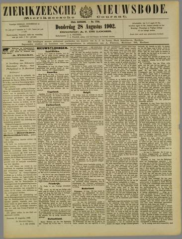 Zierikzeesche Nieuwsbode 1902-08-28