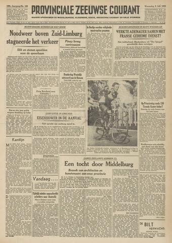 Provinciale Zeeuwse Courant 1952-07-09