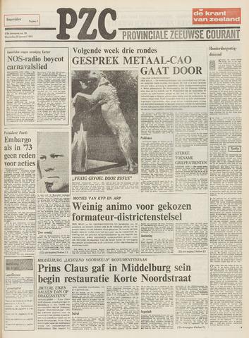 Provinciale Zeeuwse Courant 1975-01-22