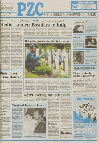 Provinciale Zeeuwse Courant 1993-08-12