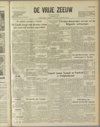 de Vrije Zeeuw 1958-06-03
