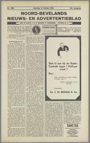 Noord-Bevelands Nieuws- en advertentieblad 1935-10-19