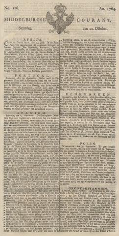 Middelburgsche Courant 1764-10-20