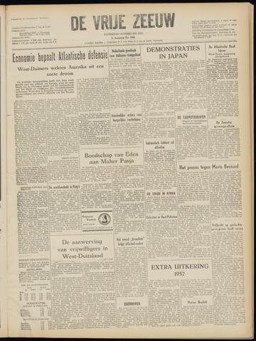 de Vrije Zeeuw 1952-02-23