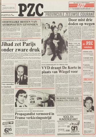 Provinciale Zeeuwse Courant 1986-03-10