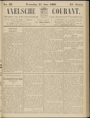 Axelsche Courant 1908-06-24