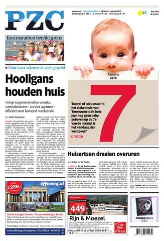 Provinciale Zeeuwse Courant 2015-08-07