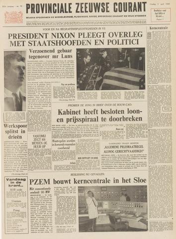 Provinciale Zeeuwse Courant 1969-04-01