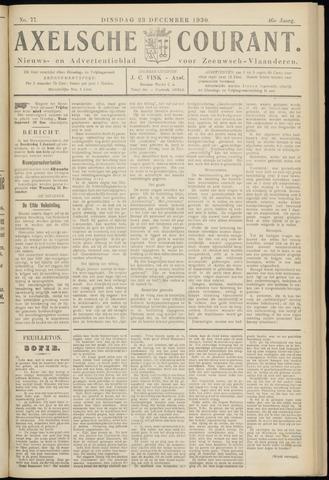 Axelsche Courant 1930-12-23