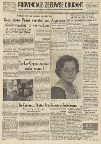 Provinciale Zeeuwse Courant 1959-01-16