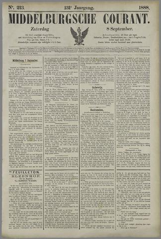 Middelburgsche Courant 1888-09-08