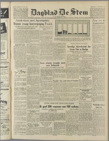 de Stem 1949-11-09