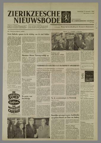 Zierikzeesche Nieuwsbode 1965-09-09