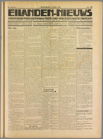 Eilanden-nieuws. Christelijk streekblad op gereformeerde grondslag 1936-07-15