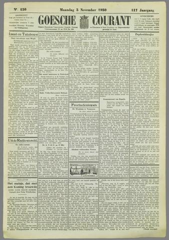 Goessche Courant 1930-11-03