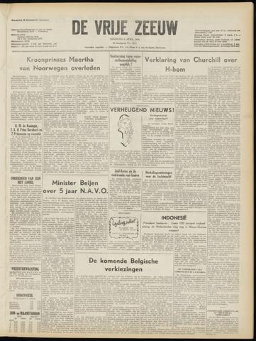 de Vrije Zeeuw 1954-04-06