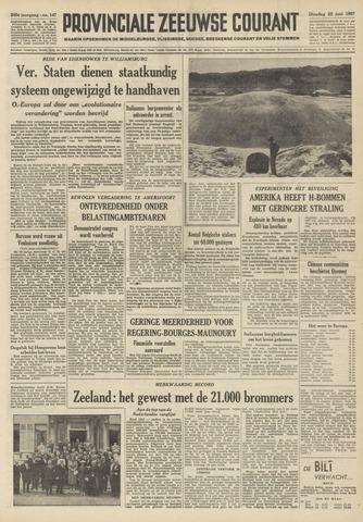 Provinciale Zeeuwse Courant 1957-06-25