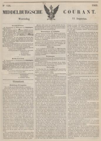 Middelburgsche Courant 1869-08-11
