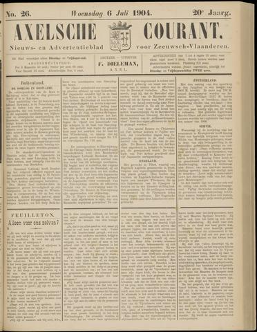 Axelsche Courant 1904-07-06