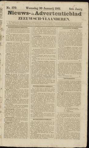 Ter Neuzensche Courant. Algemeen Nieuws- en Advertentieblad voor Zeeuwsch-Vlaanderen / Neuzensche Courant ... (idem) / (Algemeen) nieuws en advertentieblad voor Zeeuwsch-Vlaanderen 1861-01-30