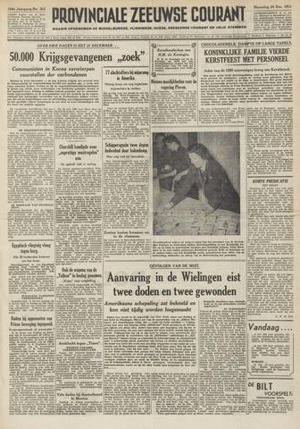 Provinciale Zeeuwse Courant 1951-12-24
