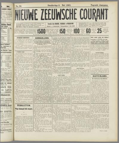 Nieuwe Zeeuwsche Courant 1913-05-08