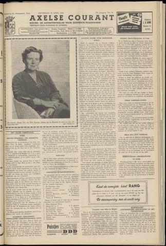 Axelsche Courant 1956-04-28