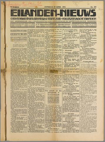 Eilanden-nieuws. Christelijk streekblad op gereformeerde grondslag 1931