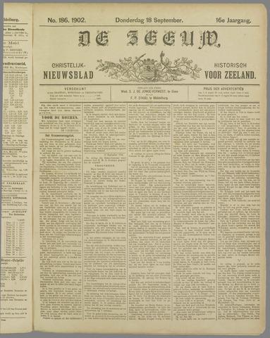 De Zeeuw. Christelijk-historisch nieuwsblad voor Zeeland 1902-09-18