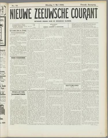 Nieuwe Zeeuwsche Courant 1906-05-08