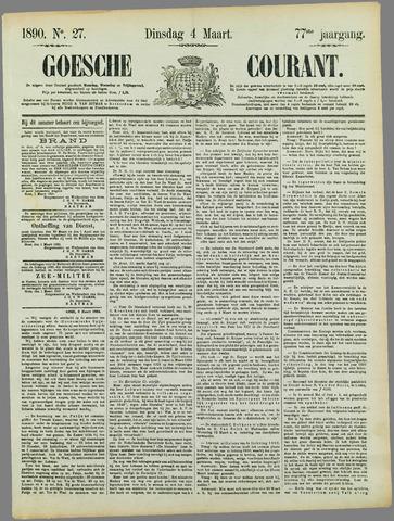 Goessche Courant 1890-03-04