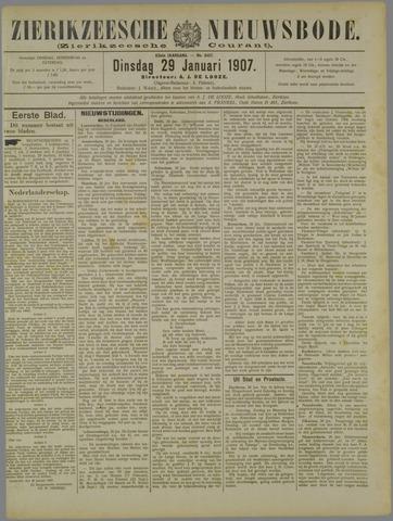 Zierikzeesche Nieuwsbode 1907-01-29