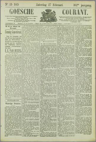 Goessche Courant 1915-02-27