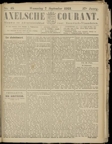 Axelsche Courant 1921-09-07