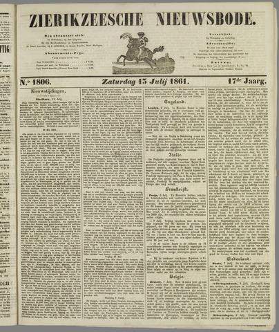 Zierikzeesche Nieuwsbode 1861-07-13