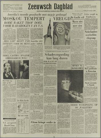 Zeeuwsch Dagblad 1960-01-22