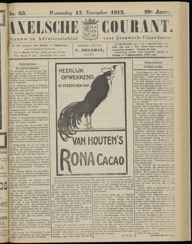 Axelsche Courant 1912-11-13