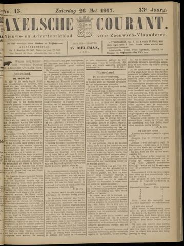 Axelsche Courant 1917-05-26