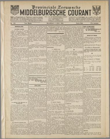 Middelburgsche Courant 1932-07-04