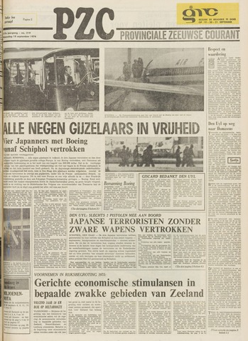 Provinciale Zeeuwse Courant 1974-09-18