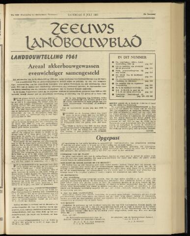 Zeeuwsch landbouwblad ... ZLM land- en tuinbouwblad 1961-07-08