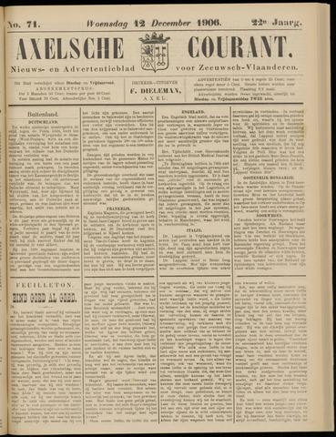 Axelsche Courant 1906-12-12