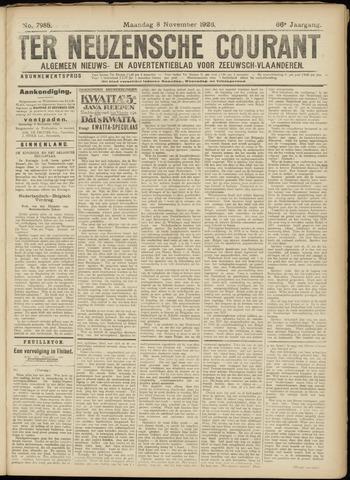 Ter Neuzensche Courant. Algemeen Nieuws- en Advertentieblad voor Zeeuwsch-Vlaanderen / Neuzensche Courant ... (idem) / (Algemeen) nieuws en advertentieblad voor Zeeuwsch-Vlaanderen 1926-11-08