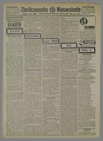 Zierikzeesche Nieuwsbode 1933-01-06