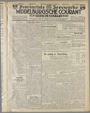 Middelburgsche Courant 1935-10-09