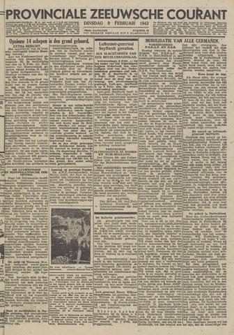 Provinciale Zeeuwse Courant 1943-02-09