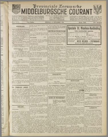 Middelburgsche Courant 1930-11-25
