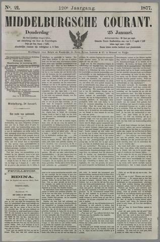 Middelburgsche Courant 1877-01-25