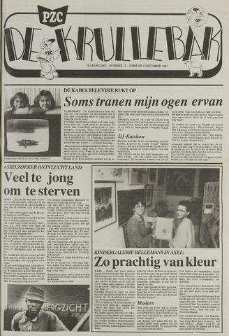 Provinciale Zeeuwse Courant katern Krullenbak (1981-1999) 1987-12-08